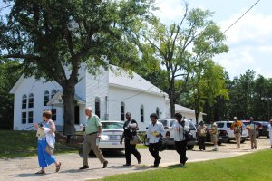 Julian Bond's Civil Rights Tour Visited Shiloh in Spring 2012
