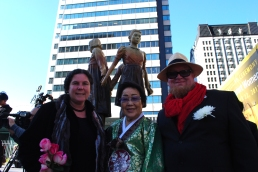 Unveiling with Grandma Lee